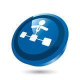 administrator netzwerk zeichen symbol button poster