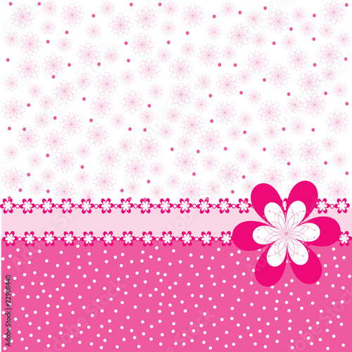 flower for background pink