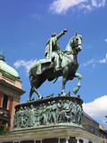 Monument of Duke Mihailo Obrenovic, Belgrade poster