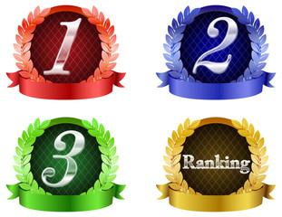 colorful ranking icon