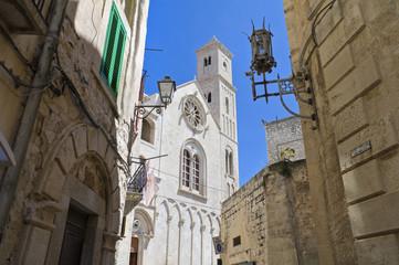 View of Giovinazzo Cathedral. Apulia.