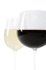 Weißwein - Rotwein
