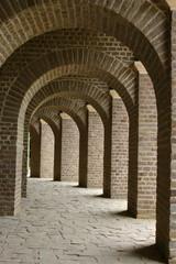 Torbogen Säulen