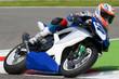 moto suzzuchi in pista
