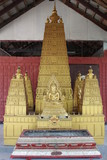imitate stupa, Wang Pla Do, Borabue, Mahasarakam, poster