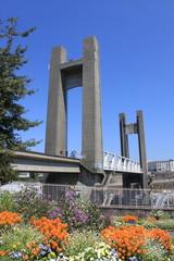 Pont de Recouvrance à Brest - France