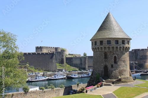 Tour Tanguy et château à Brest - Francja
