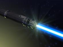 Sabre laser bleu
