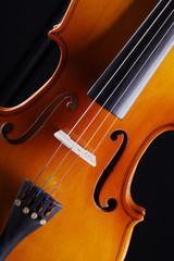 Geige, Violine close up, hoch