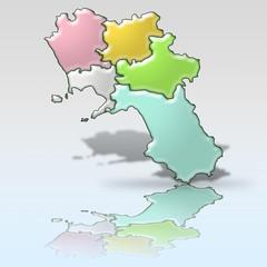 Campania province e città