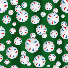 France soccer ball pattern
