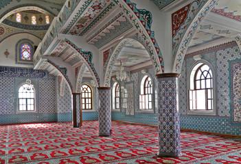 Moschee, Säulen
