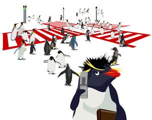 ペンギン交差点