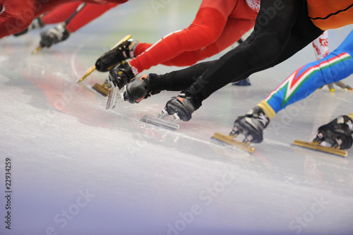 Fototapeta ćwiczenie - lód - Artykuły Sportowe
