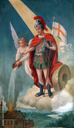 Zdjęcia na płótnie, fototapety, obrazy : Saint Florian