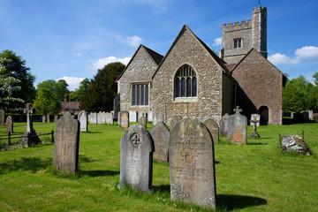 Rural English Church