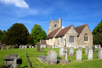 Church in Kent, in sunshine