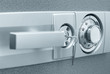 Safe with combination lock - 22938470