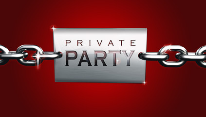 Private party space