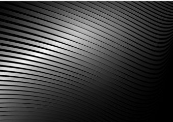 Silver vector  lined surface