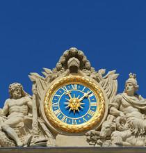 Orologio facciata Versailles