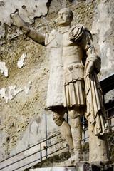 statue de Marco Nonio Balbo à Herculanum