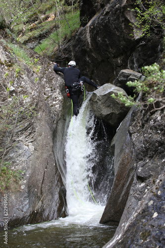 Descenso barranco 2