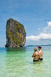 Beach of Poda Island in Krabi