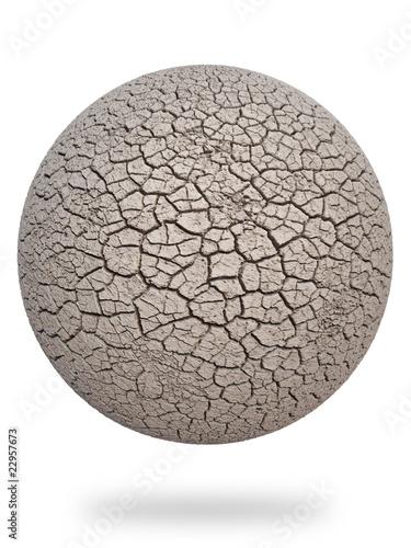 dry earth mainland 3d cg - 22957673