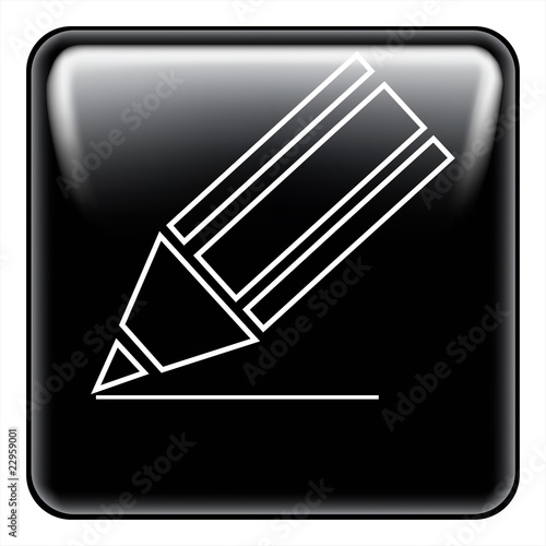 pen button vector