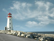 Peggy`s Cove lighthouse