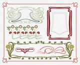 treasures of historical design - art-nouveau (based on original) poster
