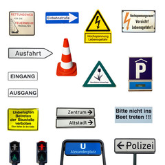 German signs