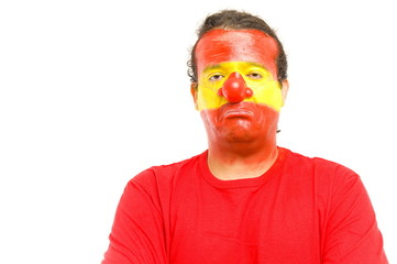 Clown Spanish Supporter