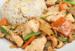 Chinese Cashew Chicken with Rice