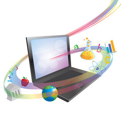 Vector Online Learning or Schooling Concept