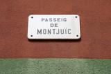 Montjuic, Barcelona poster