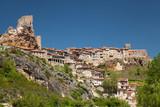 Panoramica de Frias, Burgos, Castilla y Leon, Spain poster