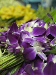 Mercado de las flores en Bangkok (Tailandia)