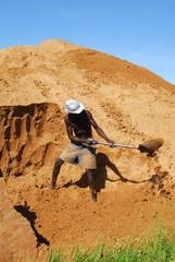 minatore africano