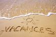 Leinwanddruck Bild - vacances au soleil