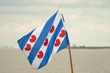 Frisian flag of the Netherlands