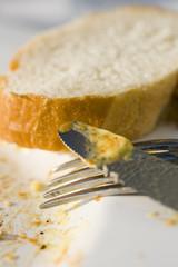 Besteck mit Brot