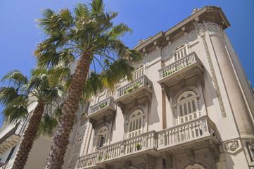 Palace in Bari Oldtown. Apulia.