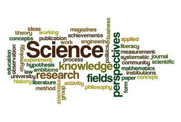 Science - Word Cloud