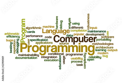 Programming - Word Cloud