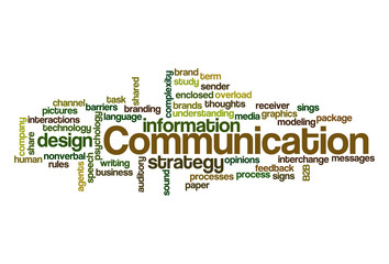 Communication - Word Cloud