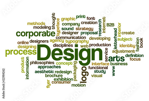 Design - Word Cloud