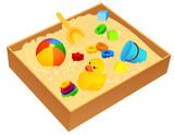 Fototapety Sandbox