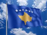 Kosovo-Fahne poster